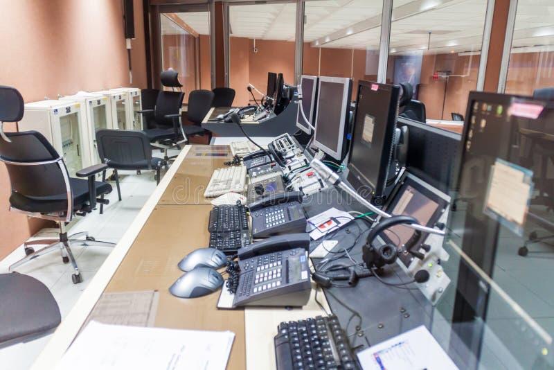 Zentrale in der Guayana-Raum-Mitte lizenzfreie stockfotos