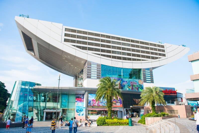 Zentrale, Hong Kong - 21. September 2016: Die Spitze und Spitze Towe stockfotografie