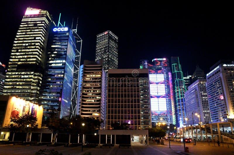 Zentrale in Hong Kong stockbild