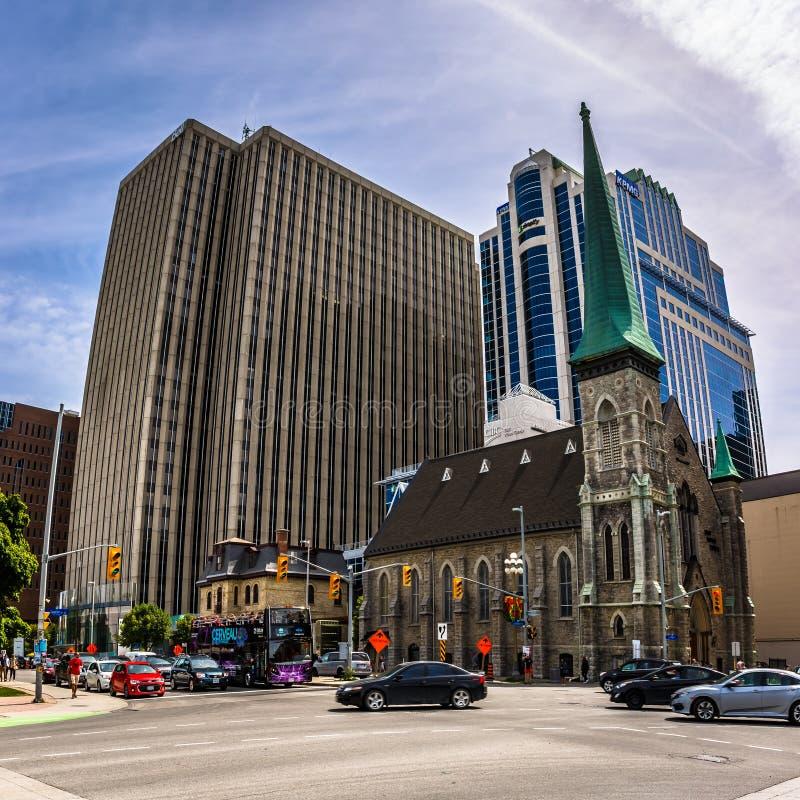 Zentrale im Stadtzentrum gelegen, Ottawa, Ontario, Kanada lizenzfreies stockbild