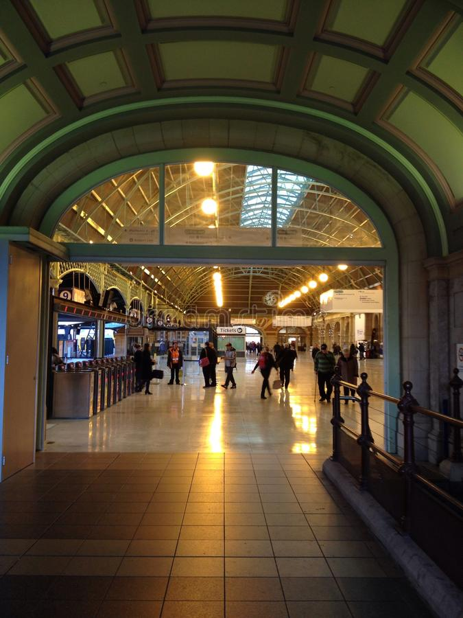 Zentrale Station lizenzfreies stockbild