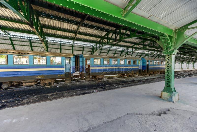 Zentraler Bahnhof - Havana, Kuba lizenzfreies stockbild