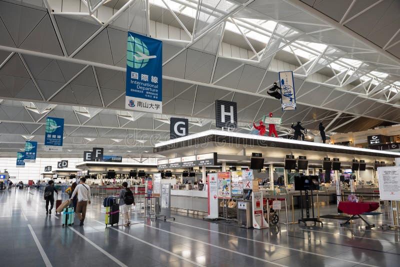 Zentraler Japan internationaler Flughafen Chubu stockfoto