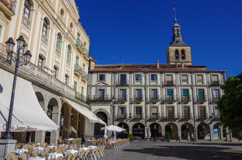 Zentraler Platz Plaza de Armas in der alten Stadt des mittelalterlichen histori stockfoto
