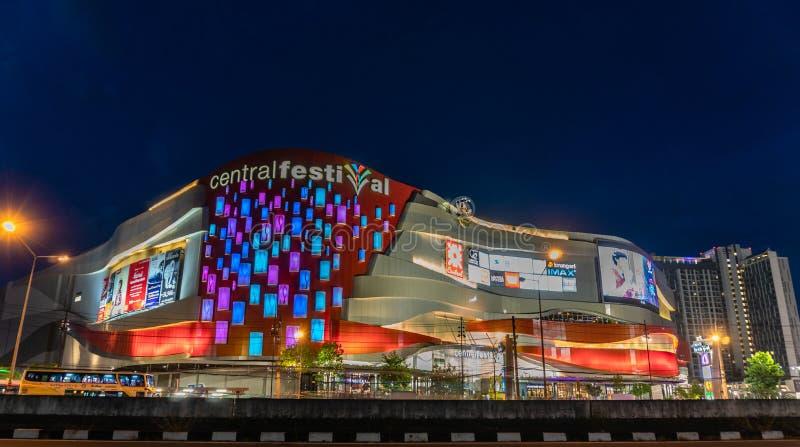 Zentrales Festival von Chiang Mai Thailand stockbilder