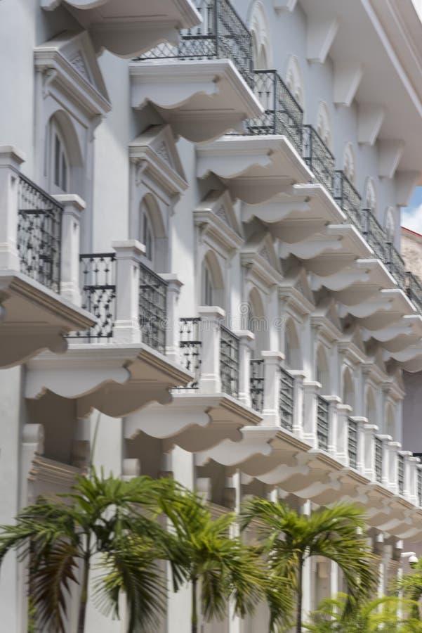 Zentrales Hotel PanamÃ-¡ alte Stadt Panama-Stadt lizenzfreie stockbilder