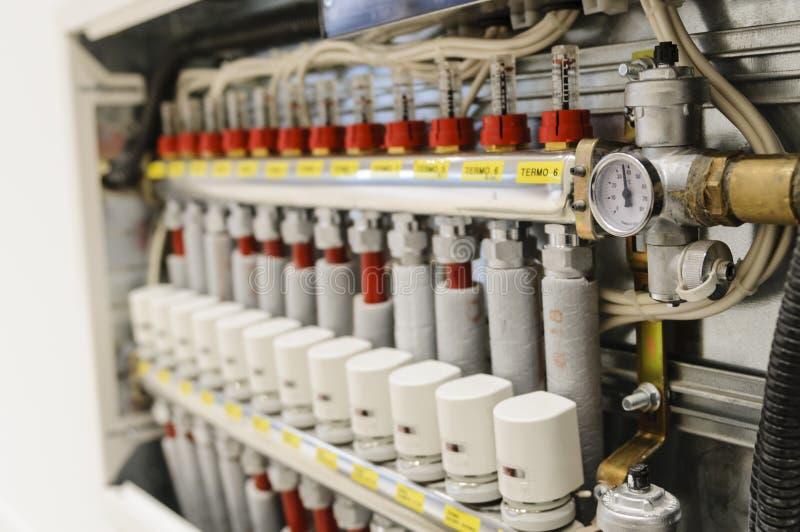 Zentralisierte Heizung Und Klimaanlage Stockfoto   Bild von anschluß, inländisch 36913606