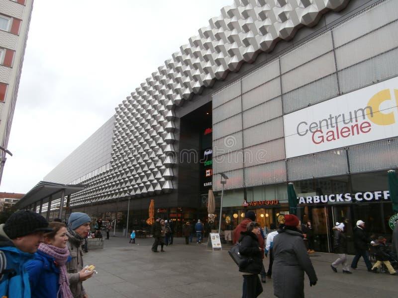 Zentrum Galerie-Einkaufszentrum in Dresden, Deutschland (2013-12-07) stockfoto