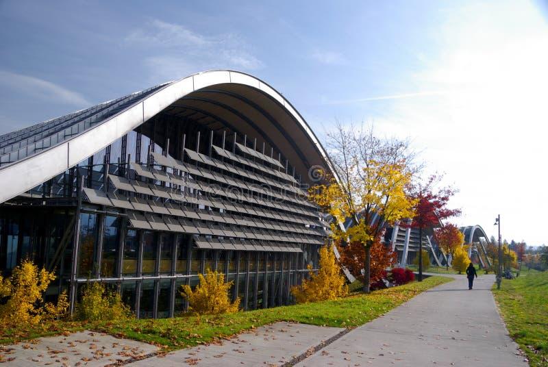 Zentrum Paul Klee royalty-vrije stock fotografie