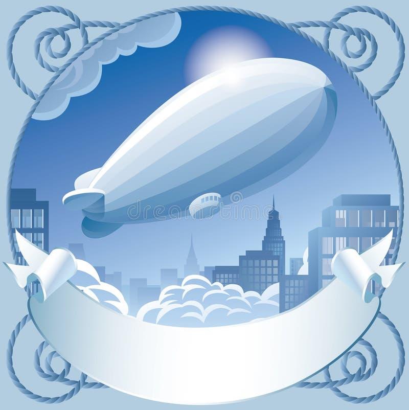 Zeppelin lizenzfreie abbildung