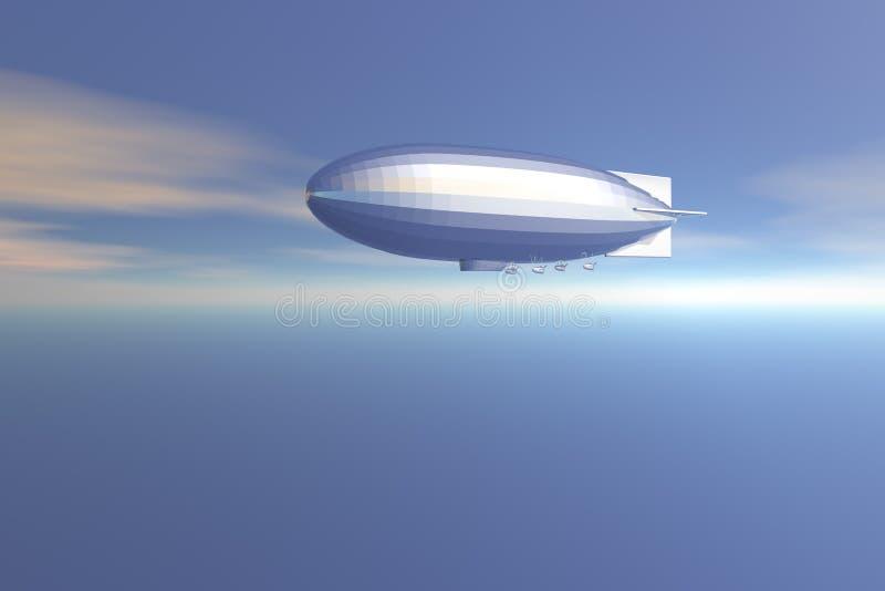 Zeppelin stock illustratie
