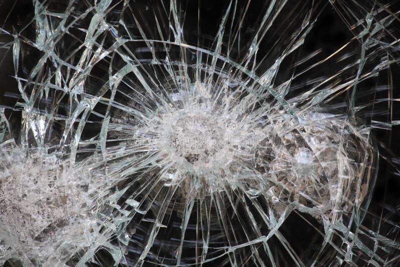 Zerbrochene Fensterscheibe lizenzfreie stockfotografie