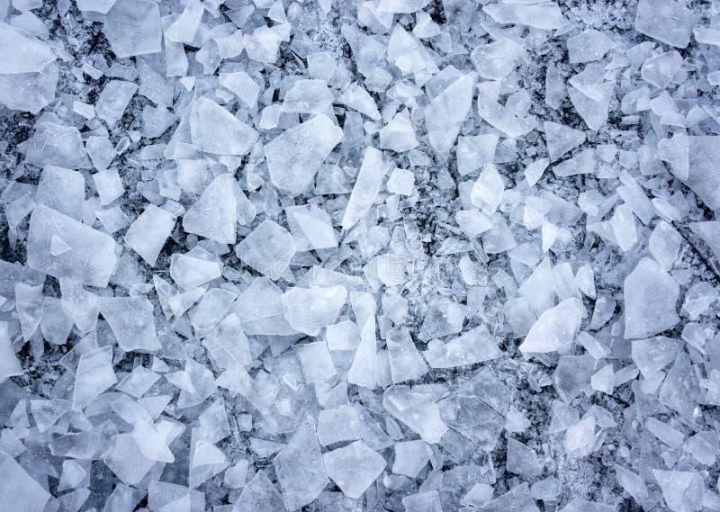 Zerbrochenes Eis Lizenzfreies Stockfoto
