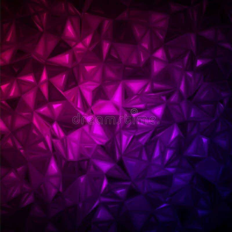 Zerknittert abstrakter Hintergrund. ENV 8 vektor abbildung