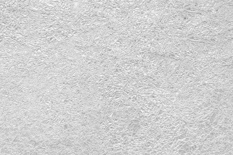 Zerknitterte graue Folienbeschaffenheit nützlich für Hintergrund lizenzfreies stockfoto