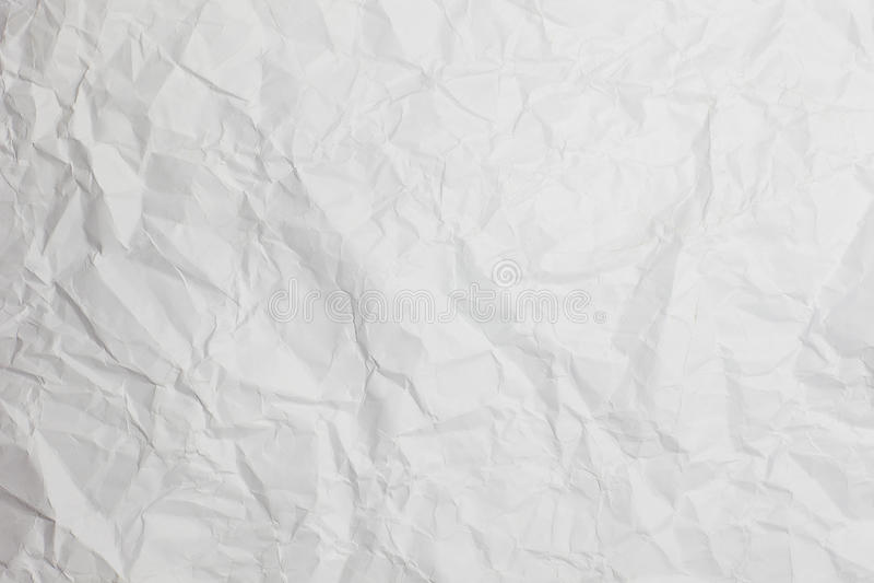Zerknitterter Papierhintergrund stockfoto