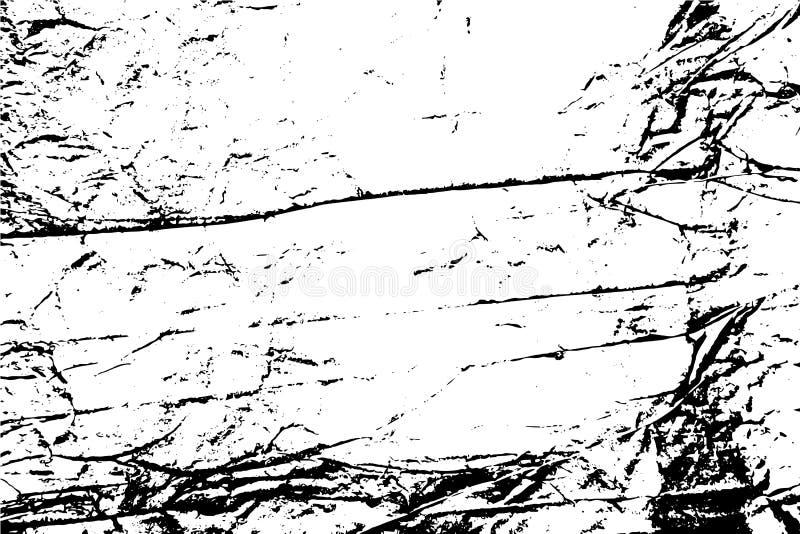 Zerknitterter Papierhintergrund lizenzfreie abbildung