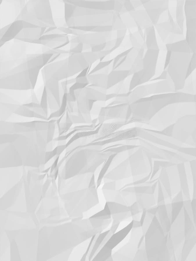 Zerknittertes Papier lizenzfreies stockfoto