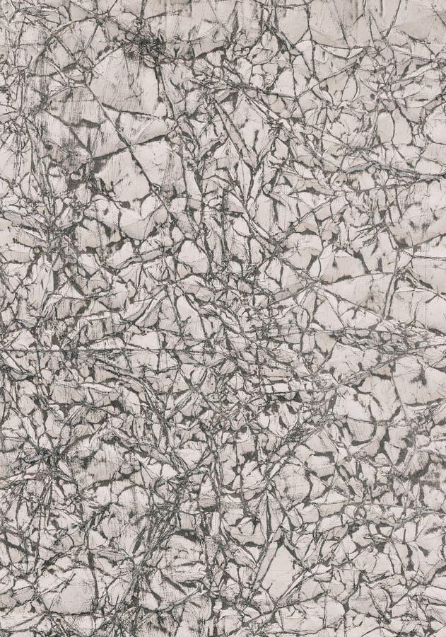 Zerknittertes Papierhintergrund-Weiß 09 vektor abbildung