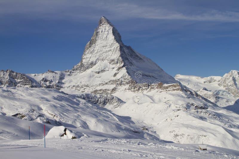 Zermatt 0009 stock fotografie