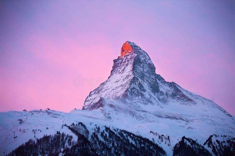Zermatt arkivbilder