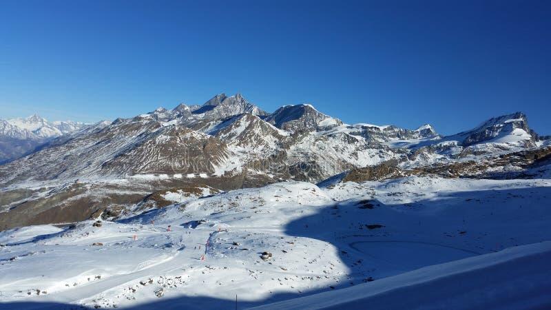 Zermatt stock fotografie
