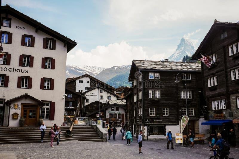 Zermatt arkivfoto