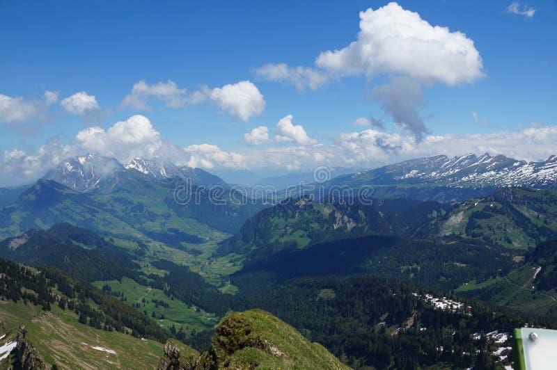 Zermatt in the autumn stock image