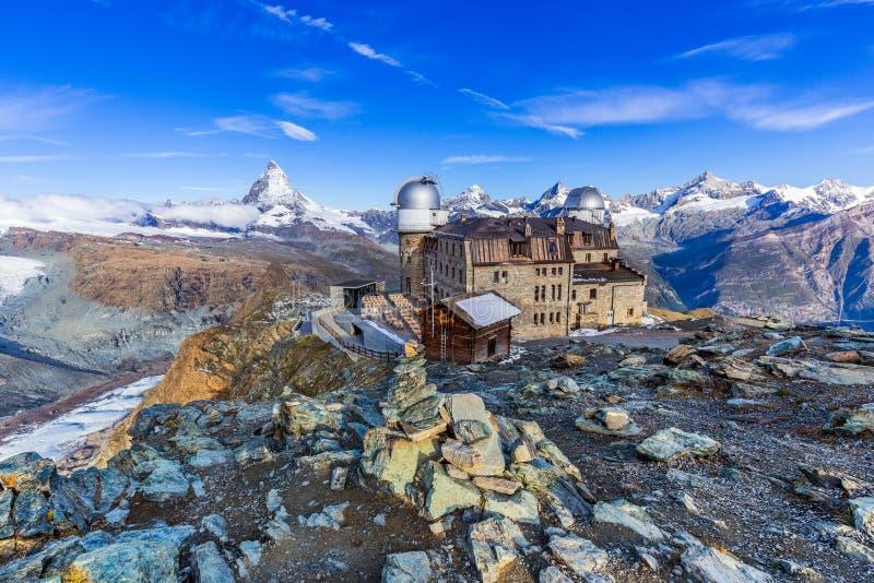 Zermatt, hotel svizzeri in Zermatt, Svizzera di Switzerland immagine stock libera da diritti