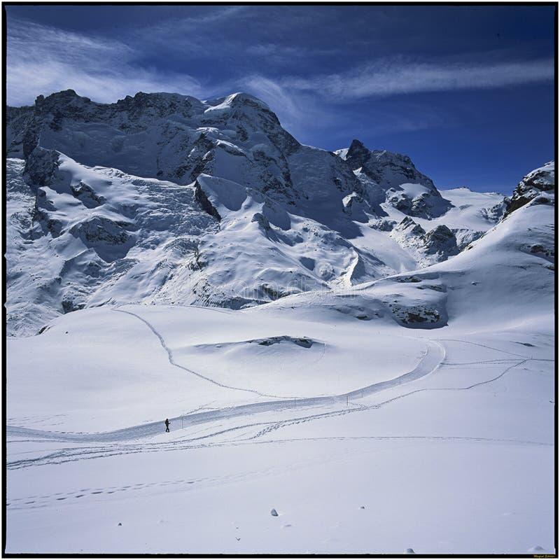Zermatt Winter Photo Walk 2013 royalty free stock image
