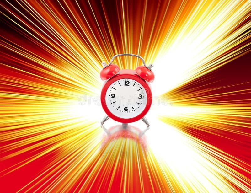 Zero Clock Stock Photo