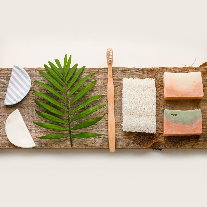 Zero Waste Beauty Body Care Items. Bathroom Essentials In ...