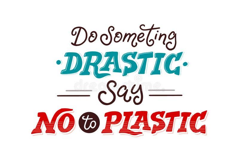 Zero waste vector poster stock photography