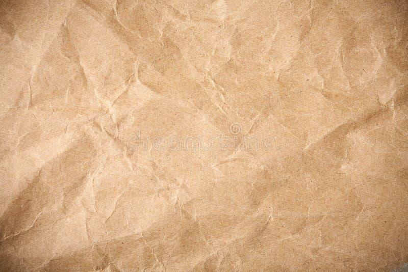 Zerquetschter grunge Papierhintergrund stockbilder