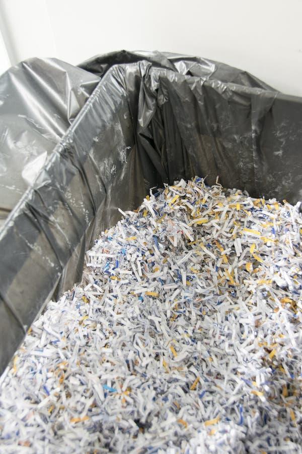 Zerrissene Papiere lizenzfreies stockbild