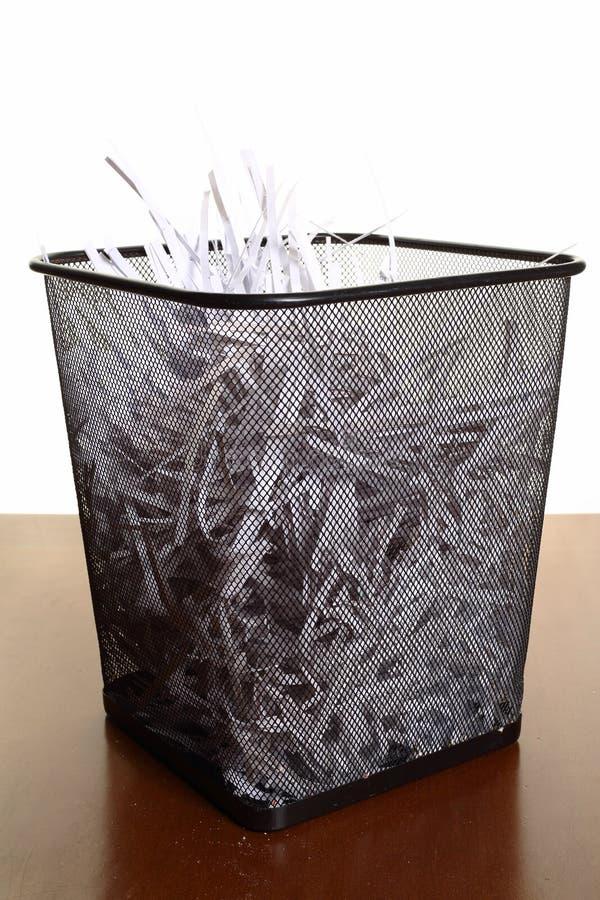 Zerrissene Papiere schließen oben stockfotografie