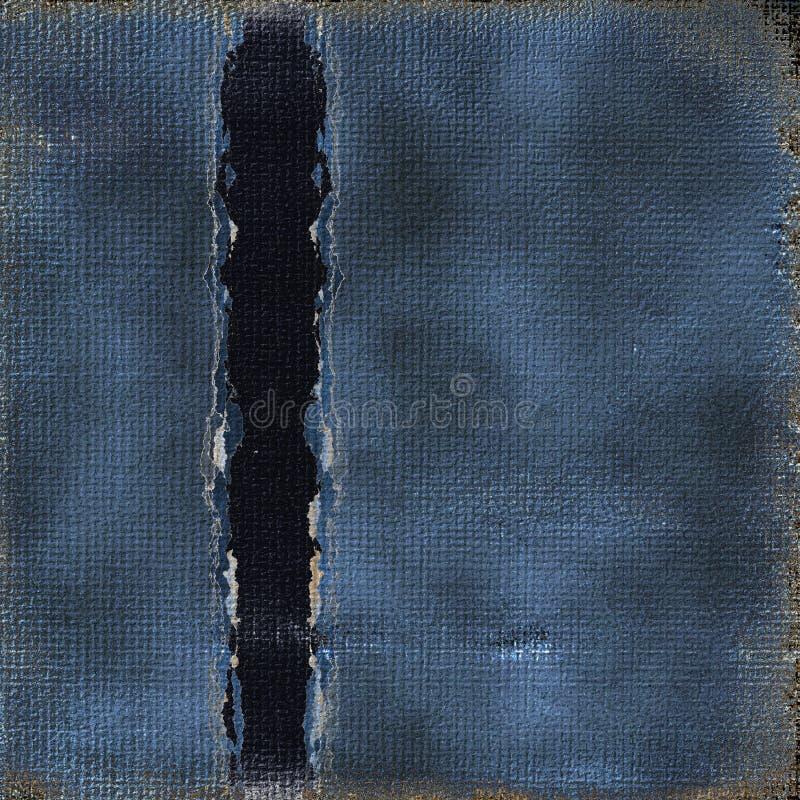 Zerrissenes heftiges Grunge Papier vektor abbildung