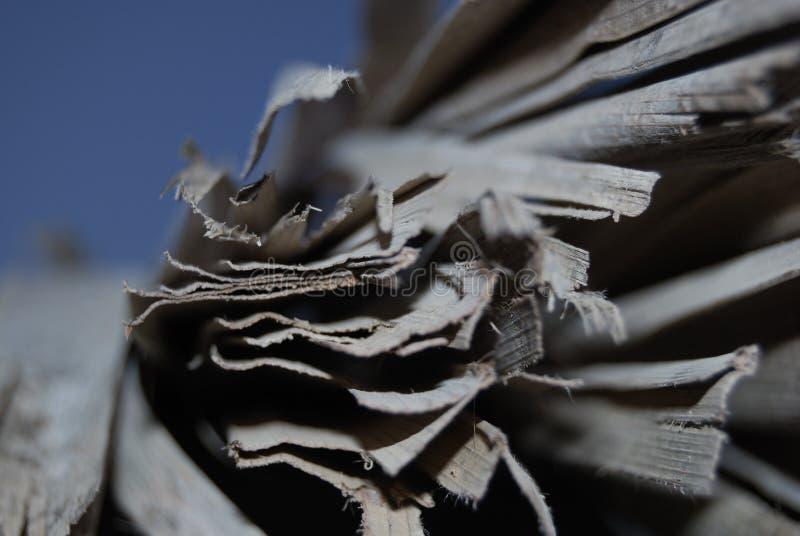 Zerstörtes Papier stockfotos