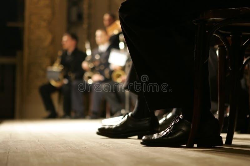 zespół mosiądza orkiestry fotografia royalty free