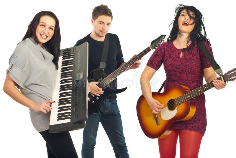 zespołu instrumentów muzykalny bawić się obraz royalty free