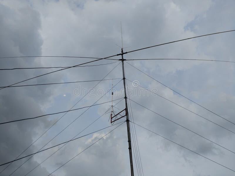 80 zespołu metrowy antena obraz royalty free