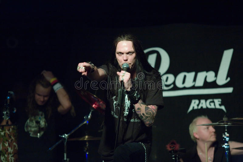 Download Zespołu Germany Kierowy Sterany Metal Wykonuje Obraz Editorial - Obraz złożonej z metal, zespół: 13330365