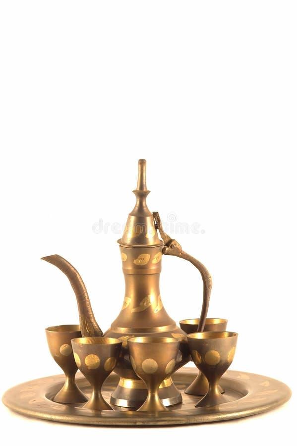 zestaw arabskiej kawy fotografia royalty free