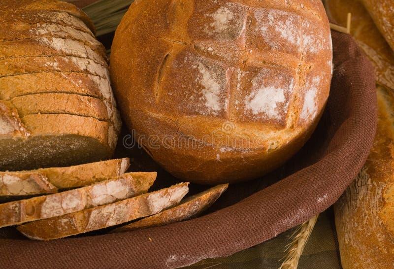 zestaw pieczenia chleba zdjęcia stock