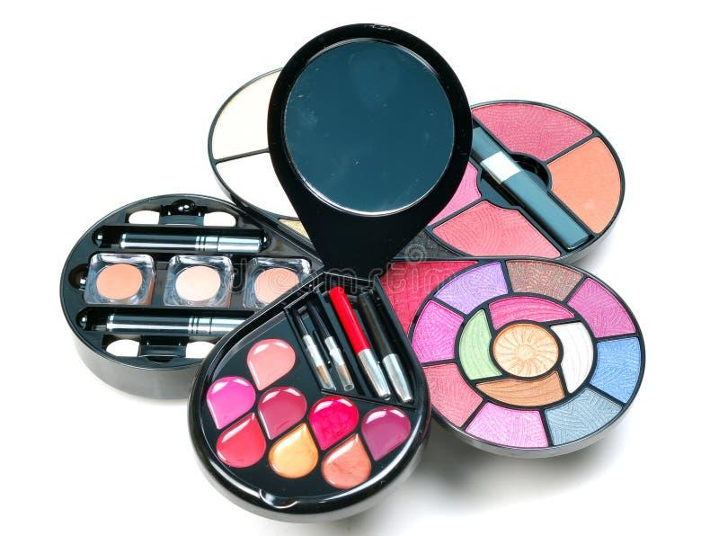 zestawu makeup obraz stock