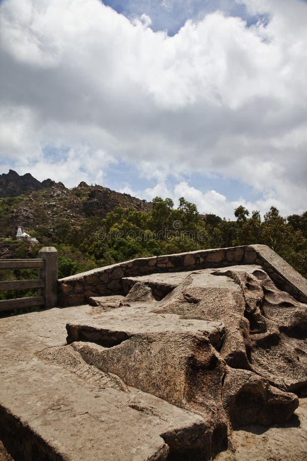 Zet Abu, Sirohi-District, Rajasthan, India op royalty-vrije stock foto