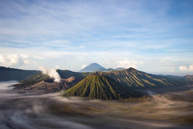 Zet Bromo, Java, Indonesië op stock foto's