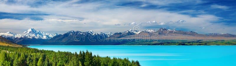 Zet Cook, Nieuw Zeeland op royalty-vrije stock afbeelding
