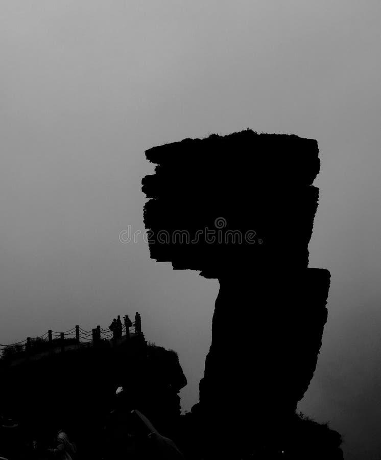 Zet Fanjing op stock foto