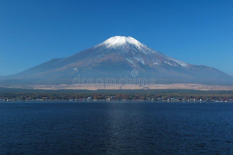 Zet Fuji op stock foto